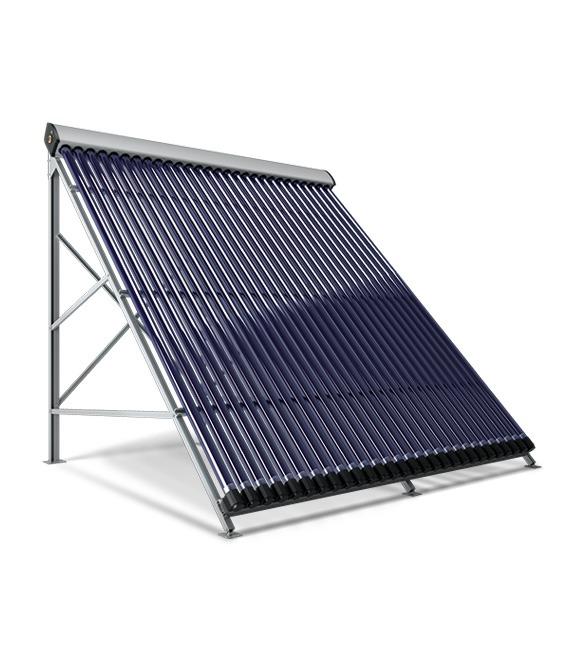 Colector Solar 10 tubos Triangular